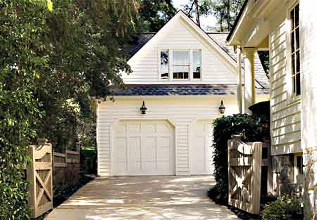 Large fence gate plans woodworking projects plans for Garage fence