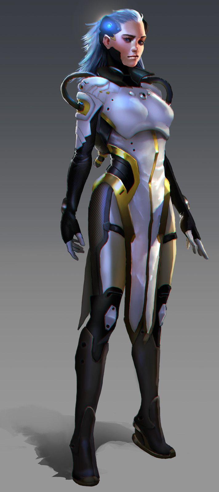 futuristic women females - photo #36