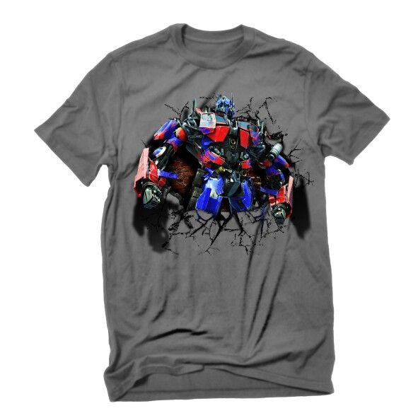 Optimus prime tshirt dsign