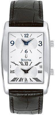 Bulova Men's Strap Watch 96A26