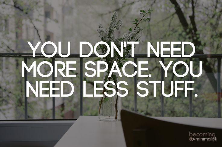 21 Benefits of Owning Less Stuff ähnliche tolle Projekte und Ideen wie im Bild vorgestellt findest du auch in unserem Magazin . Wir freuen uns auf deinen Besuch. Liebe Grüß