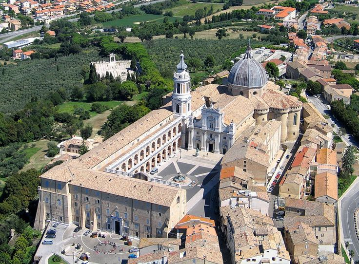 Aerial view of Loreto