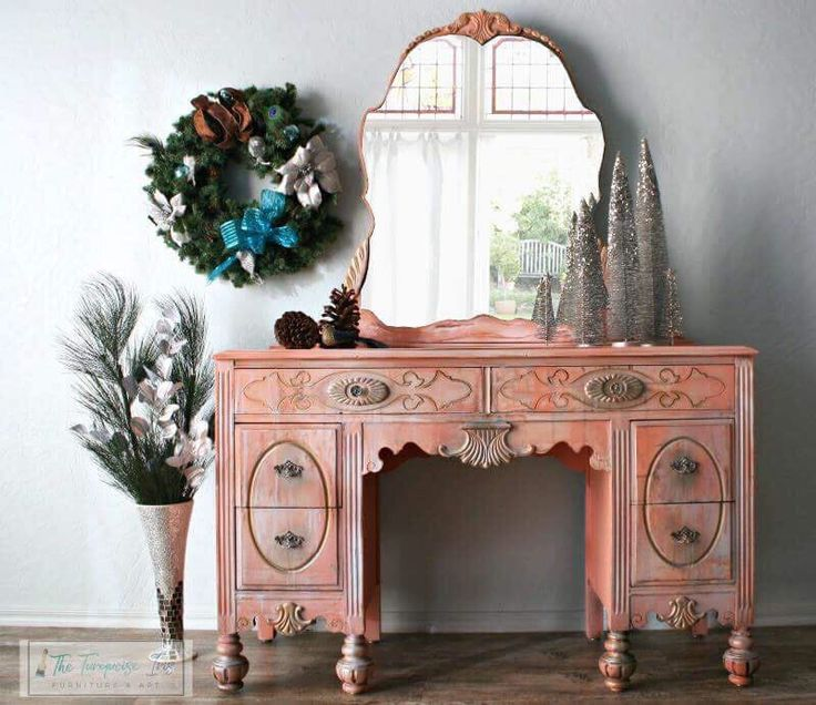 1024 Best Pink & Coral Painted Furniture Images On