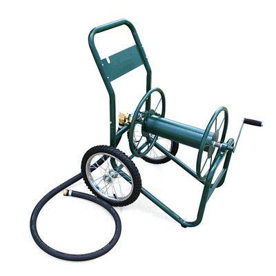 Liberty Garden Industrial 2 Wheel Hose Reel Cart