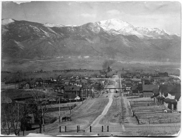 1870 Pikes Peak in Colorado
