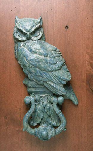 The best owl door knocker I've seen!