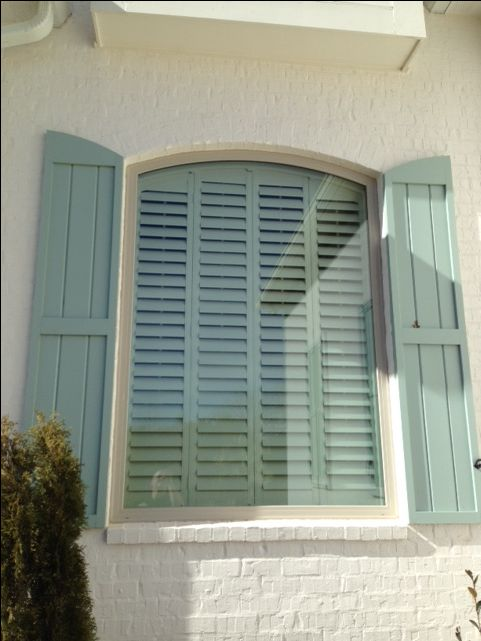 Exterior: 17 Best Images About Arched Plantation Shutters On