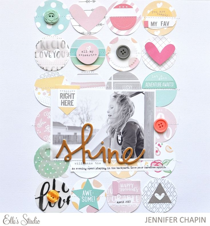 Hey there! A new monthly kit by Elle's Studio  was released on April 10th, isn't it pretty? You can pick up this kit at the Elle's Studio ...