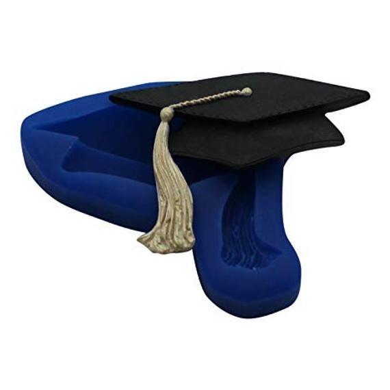 Graduation Cap Silicone Mold Graduation Hat Silicone Mold Graduation Mold In 2021 Silicone Molds Graduation Cap Cap