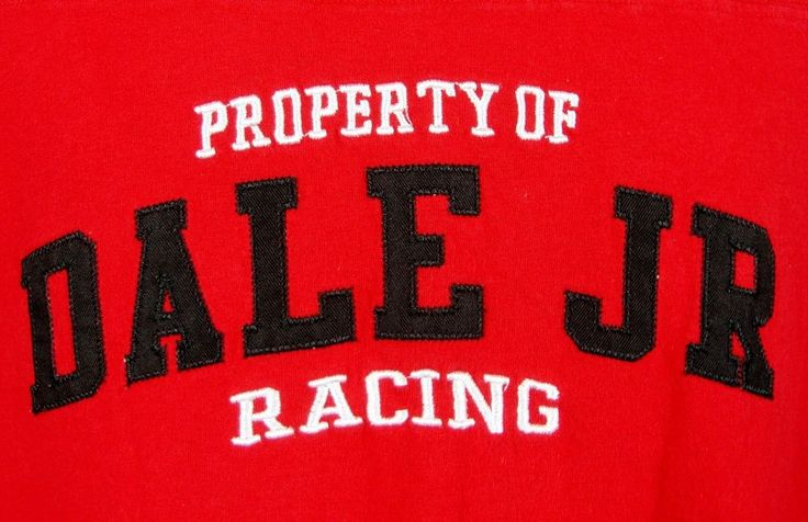 Dale Jr Racing #8 Muscle T-shirt Mens Large Chase Authentics Nascar Apparel Red #ChaseAuthentics #EmbellishedTeeembroideredapplique $23.99