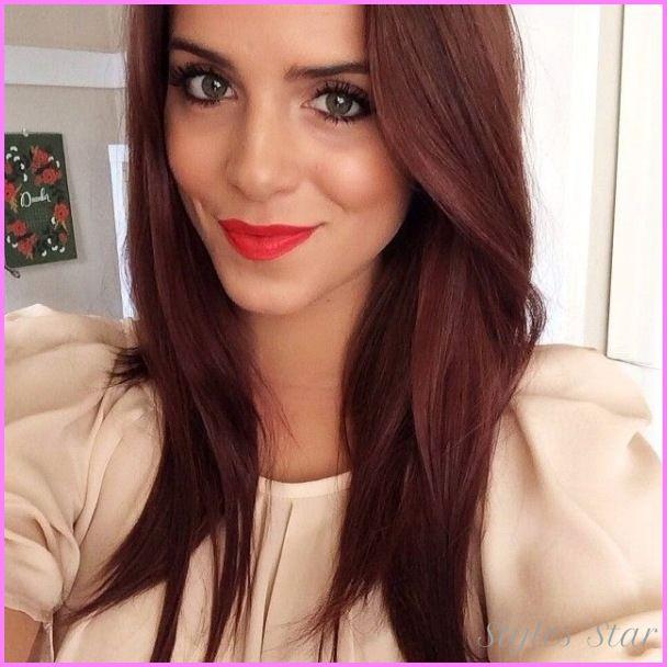 Best 25 Brownish Red Hair Ideas On Pinterest  Dark Red Hair Dye Red Brown