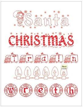 Seasonal Fonts - Halloween, Thanksgiving, and Christmas