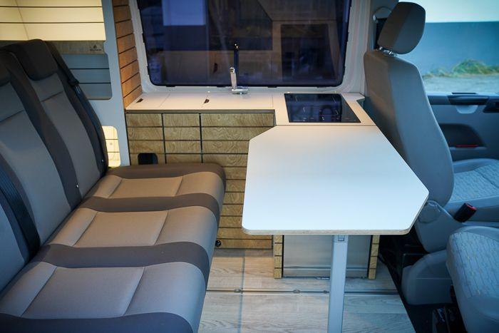 Bullifaktur Konzept 2 Klassiker Vw T5 T6 T6 1 Transporter Camper Wohnmobil Campervan Bett Kuche Schrank Reimo V3000 Vw Bus Ausbau Aufstelldach Beifahrersitz