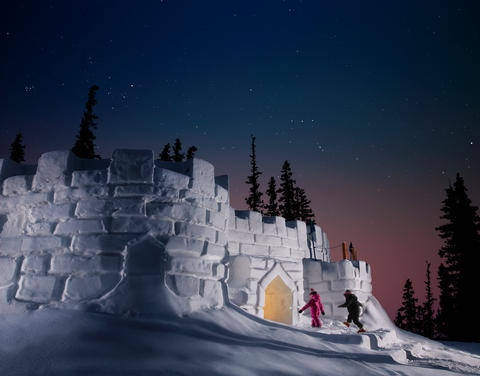 Snow Fort in Keystone