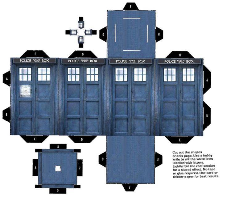 doctor who tardis diy - photo #44