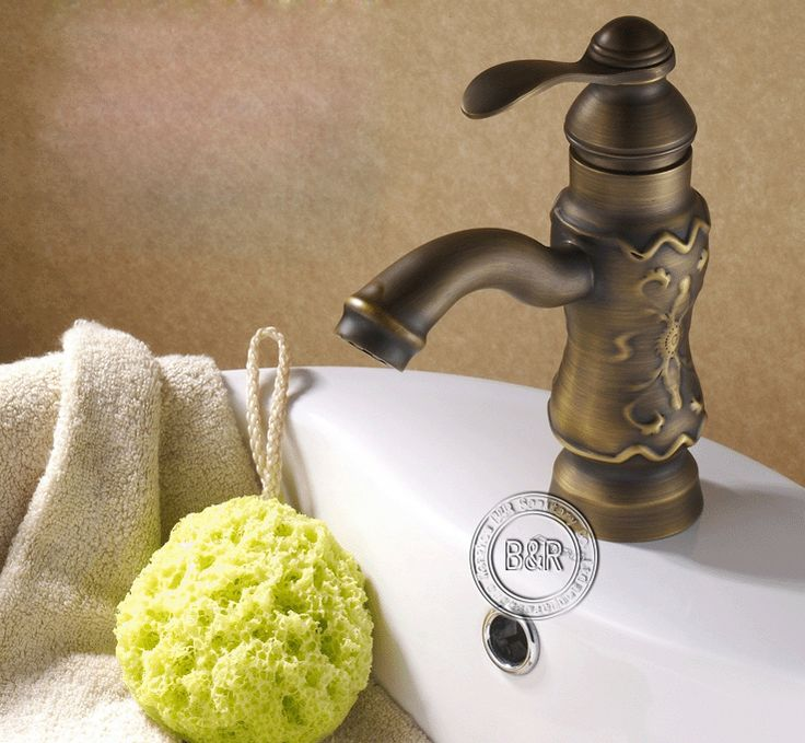 Becola тяга антикварные краны бронза цвет-античная ванной античная латунь бассейн faucet GZ-8005