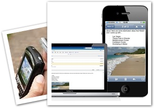 A mobi site is an enhanced version of your current website that is designed to accommodate mostly tablet PCs and next generation smartphones.    These sites are optimised for mobile devices and when viewing your site on a mobile device, it is faster and more efficient than loading your full website on these devices.