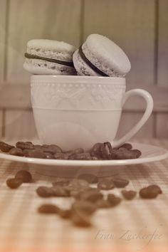 Frau Zuckerfee: Macarons mit Baileys-Füllung