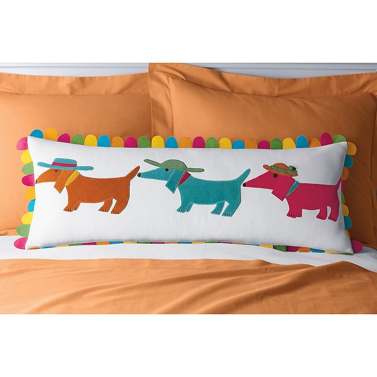 Summer Dogs Pillow Cover | The Company Store