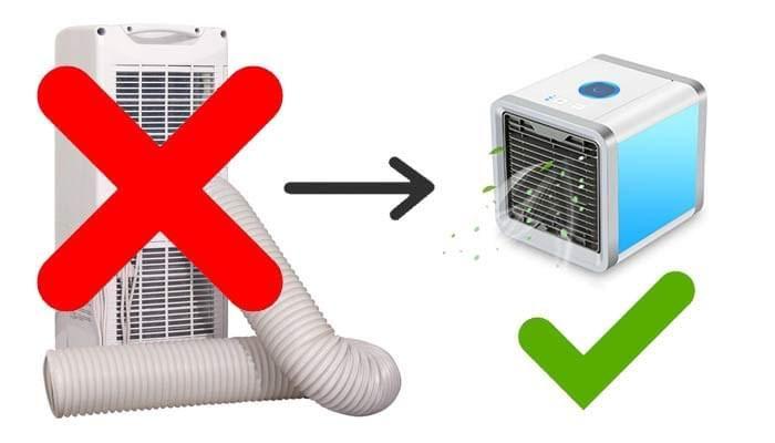 Cooler Pureair Discover The All New Portable Air Conditioner That S Sweeping The Nation Mit Bildern Klimaanlage Anlage Dachboden Loft