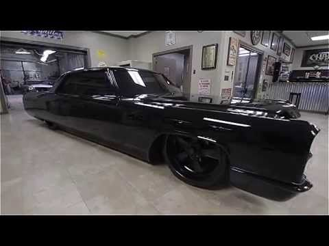 Pony's Murdered Out 1966 Cadillac Coupe DeVille   Caddy   Cadillac, Murdered out, Coupe