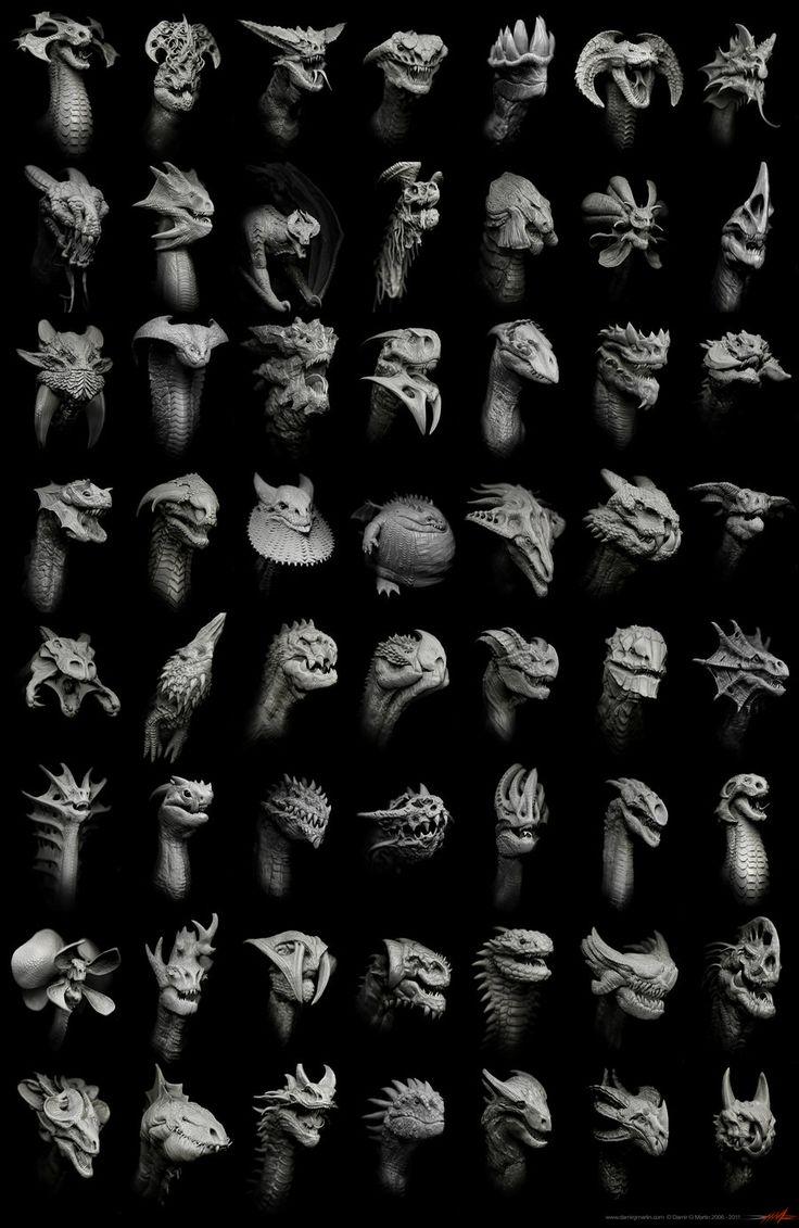 Dragon Matrix by *damir-g-martin