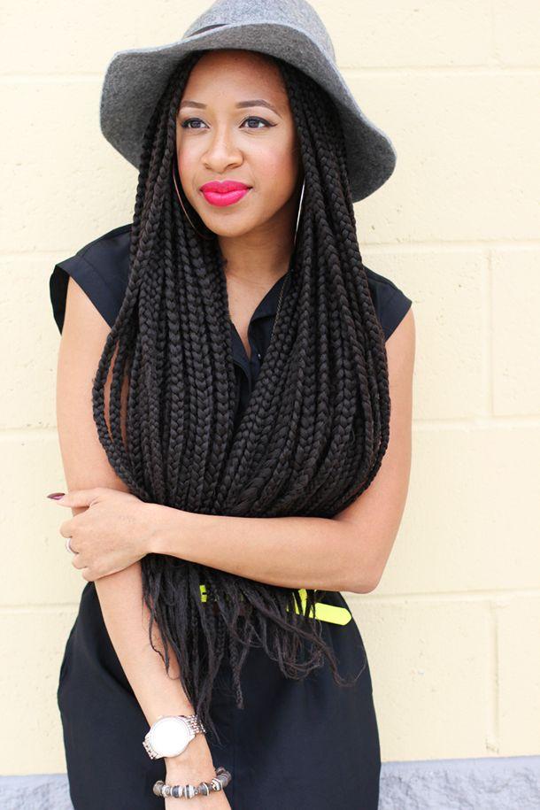 Pleasing 1000 Images About Natural Hair Box Braids On Pinterest Box Short Hairstyles Gunalazisus