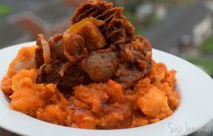 Yam Porridge/ Pottage also known as Asaro is a Nigerian Stewed Mashed Yam delicacy. This recipe is peculiar to the Yoruba tribe of Western Nigeria.