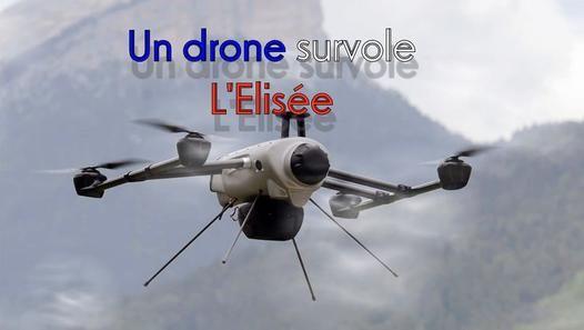 Un drone aurait survollé le Palais de l'Elysée quelques secondes. Explication de notre reporter Erick BERNARD dronologue-Elysologue.                                                  #faitdivers #drone #Elysée #Fholande