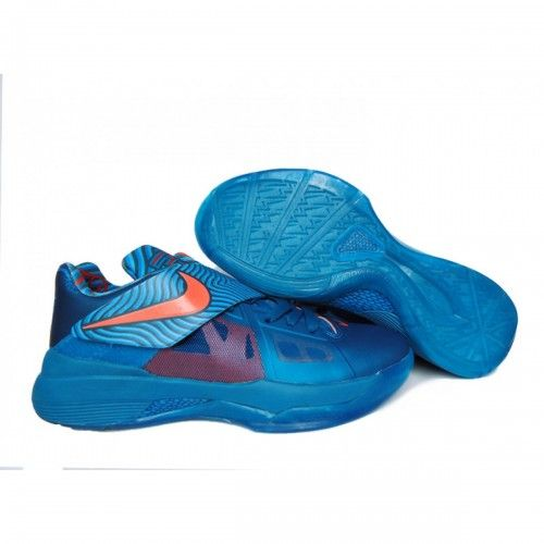 Nike Zoom KeVIn Durant 4 Iv Year Of The Dragon Green Abyss Dark Mango  Current Blue