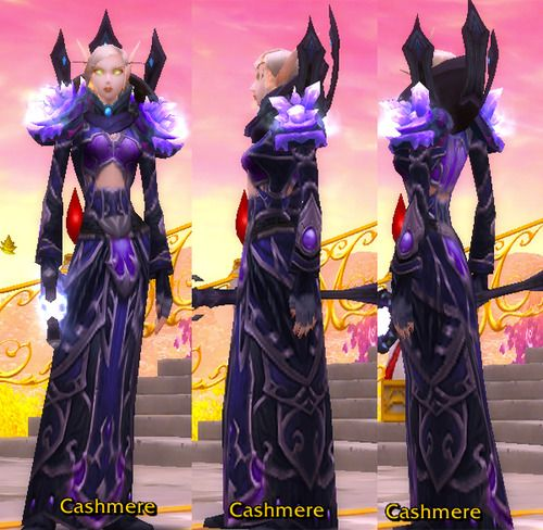 Finally made a transmog that I was quite happy about. Mage only cause a lot of the pieces are from the mage pvp and pve sets Head: Cataclys...