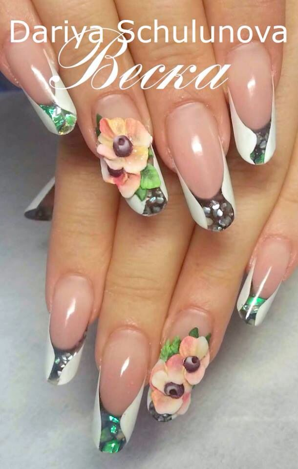 113 best uñas images on Pinterest | Nail scissors, Work nails and My ...