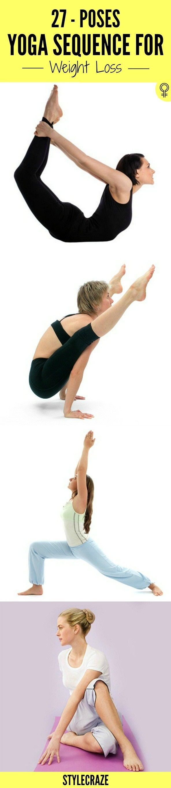 Best Yoga For Weight Loss Images On Pinterest Drawings - Best yoga posesasanas for quick weight loss