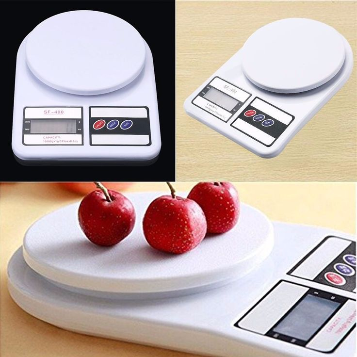 8$ 1-10kg/0.1-1g Digital LCD Electronic Kitchen Scale Food Weighing Postal Scales  #Unbranded