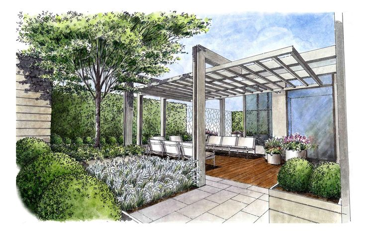 17 best ideas about landscape sketch on pinterest how to for Landscape architect drawing