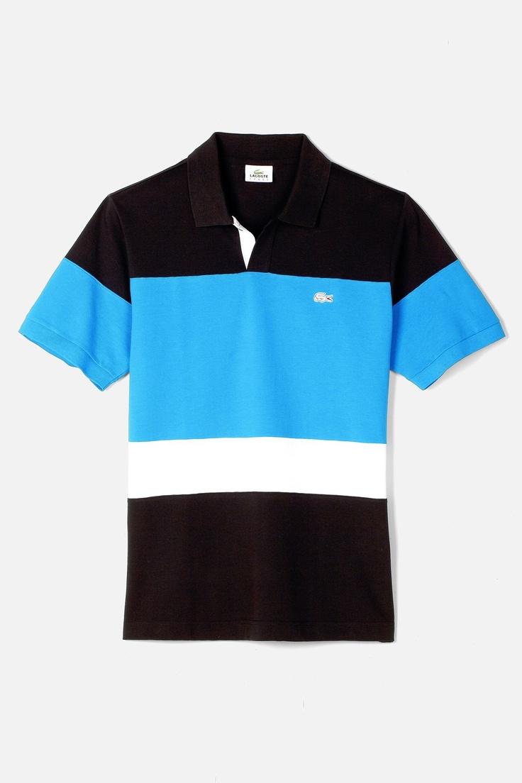 Lacoste Short Sleeve Super Light Colorblock Polo : Polo Shirts