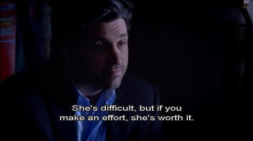 this could be how my hubs feels lol...grey's anatomy quotes   Tumblr