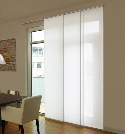 Levolor® Panel Track Blinds: Designer Textures Room Darkening