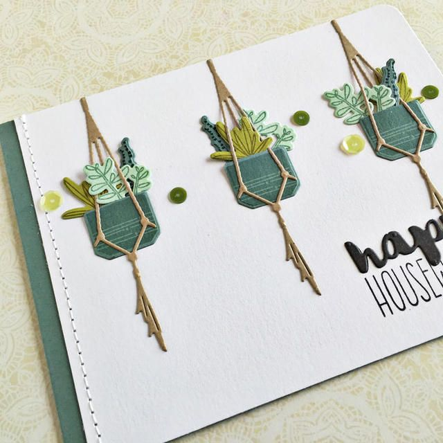 Happy Housewarming Card - detail
