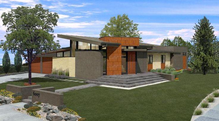 Mid Modern House Plans