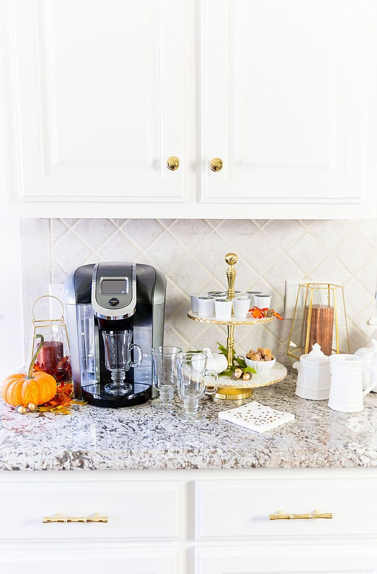 Celebrate National Coffee Day and add autumn touches to