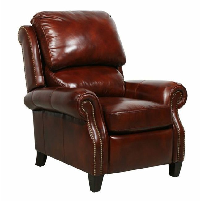 Churchill II Leather Recliner - 16346871 - Overstock Shopping - Big Discounts on Barcalounger Recliners