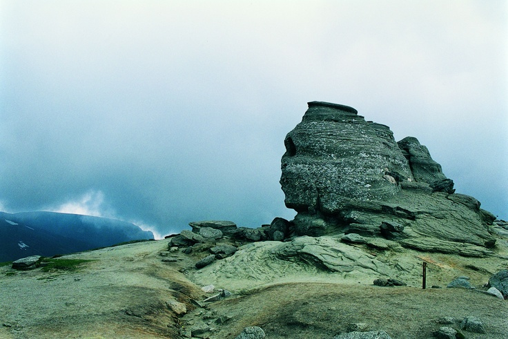 The Sphinx in the Carpathians.