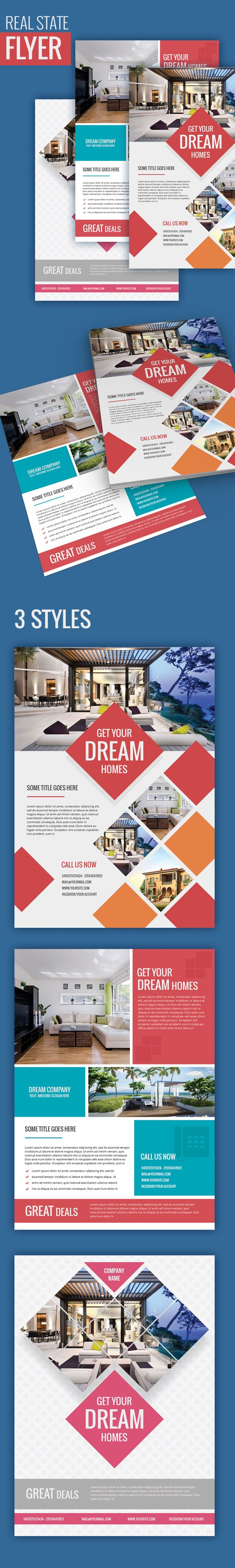 41 best real estate flyers templates images by estate agents