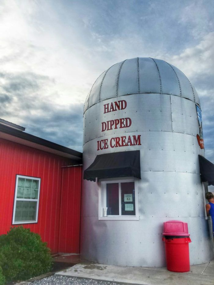 People flock from all over to take a tour of the farm, learn more about dairy cows, and see how farm fresh ice cream is made.