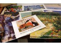 versch. Kunstkalender insg. 9 Stück