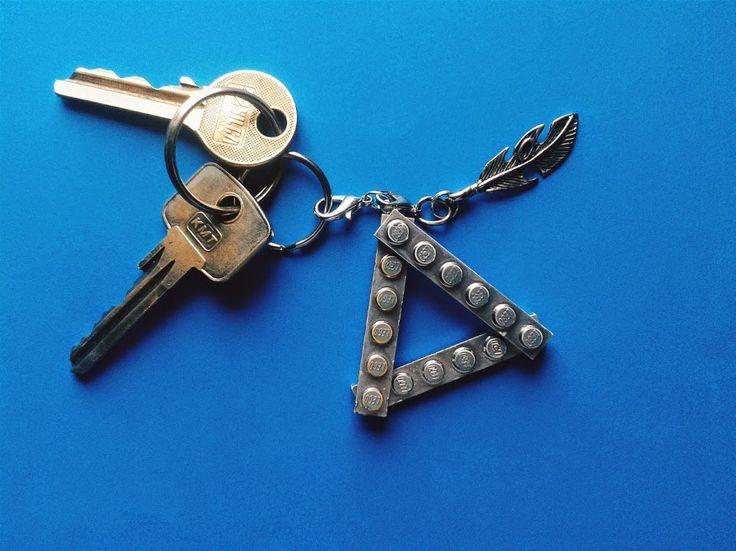 Breloczek do kluczy z Lego DIY