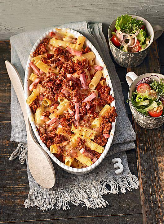 Rigatoni al forno mit Hackfleisch - super lecker und einfach