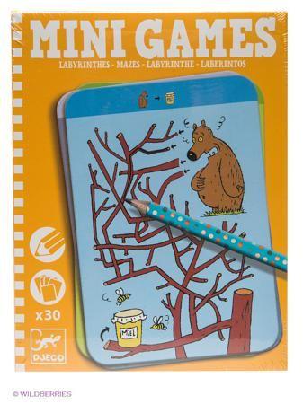"""DJECO Мини игра """"Лабиринты Тесея""""  — 510 руб.  —  Увлекательная карточная игра для детей в удобном компактном формате, прекрасно подходит для путешествий. Цель игры заключается в том, чтобы помочь животным достичь нужного места, проводя героя через запутанный лабиринт. Будьте осторожны - не попадите в тупик! На игровых карточках изображены сложные лабиринты и животные, которым необходима ваша помощь."""