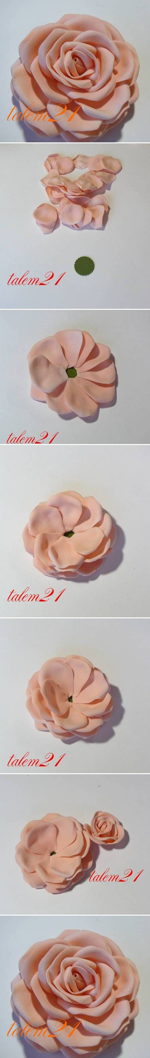 DIY Quick Modular Rose DIY Projects | UsefulDIY.com Follow Us on Facebook ==> http://www.facebook.com/UsefulDiy